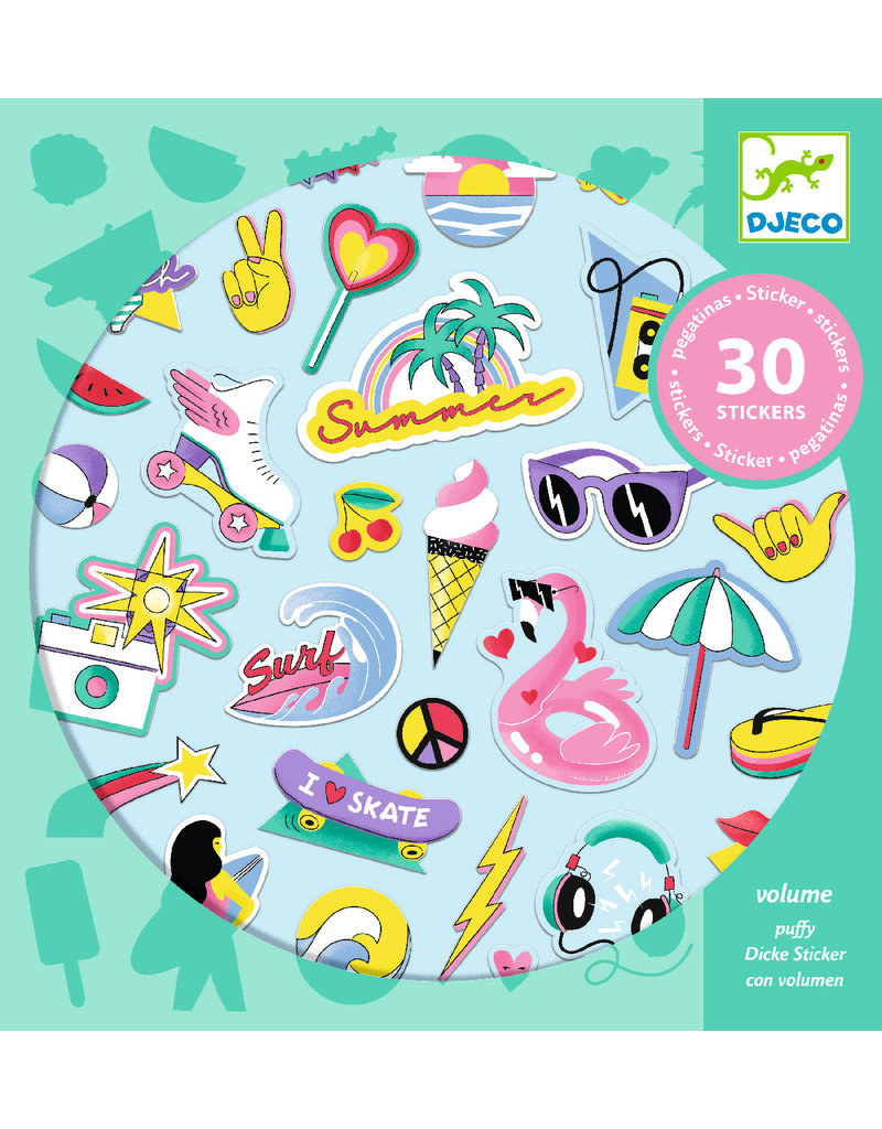 Djeco Djeco stickers california dj09262