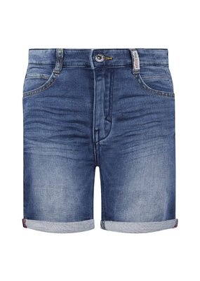 Retour Retour short Loek medium blue denim