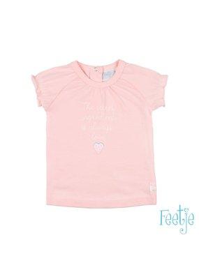 Feetje Feetje t-shirt secret sweet by nature roze