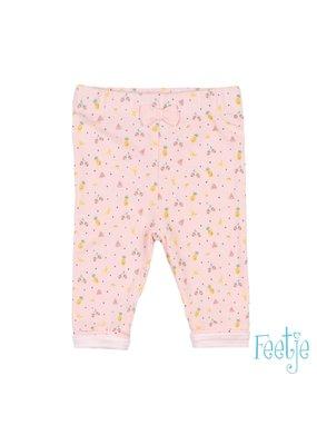 Feetje Feetje legging aop Sweet by nature roze