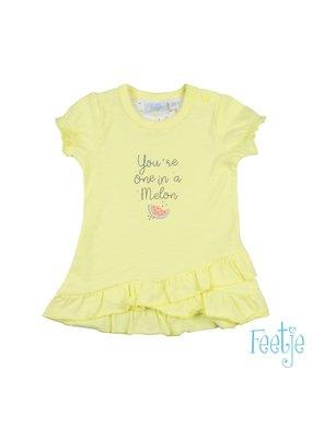 Feetje Feetje jurk Sweet by nature geel