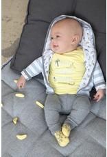 Feetje Feetje broek Go Bananas antraciet melange