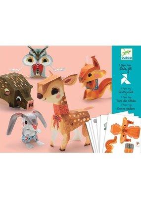 Djeco Djeco knutselpakket dieren