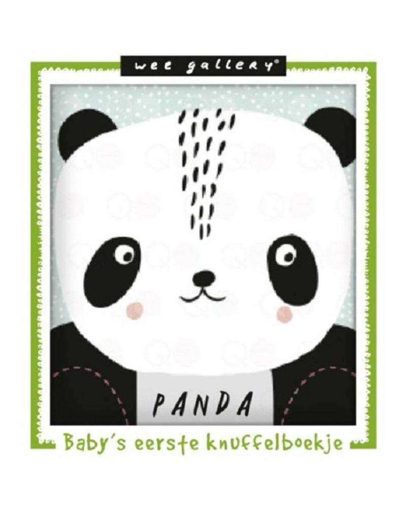 Wee Gallery Stoffen knuffelboekje panda