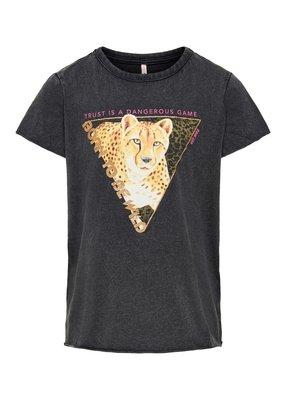 Kids Only Kids Only shirt Konlucy  tiger black