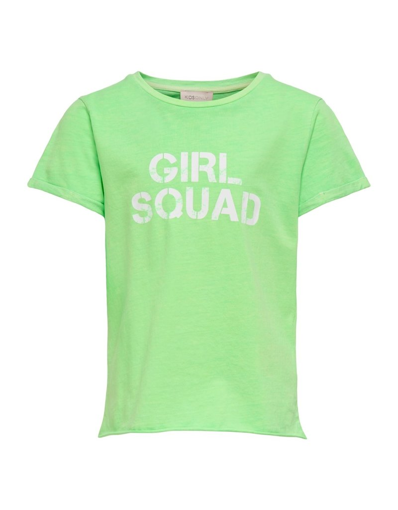 Kids Only Kids Only shirt Konacid neon green