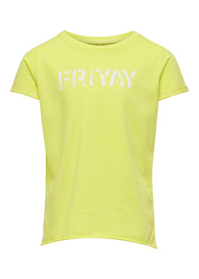 Kids Only Kids Only shirt Konacid neon yellow