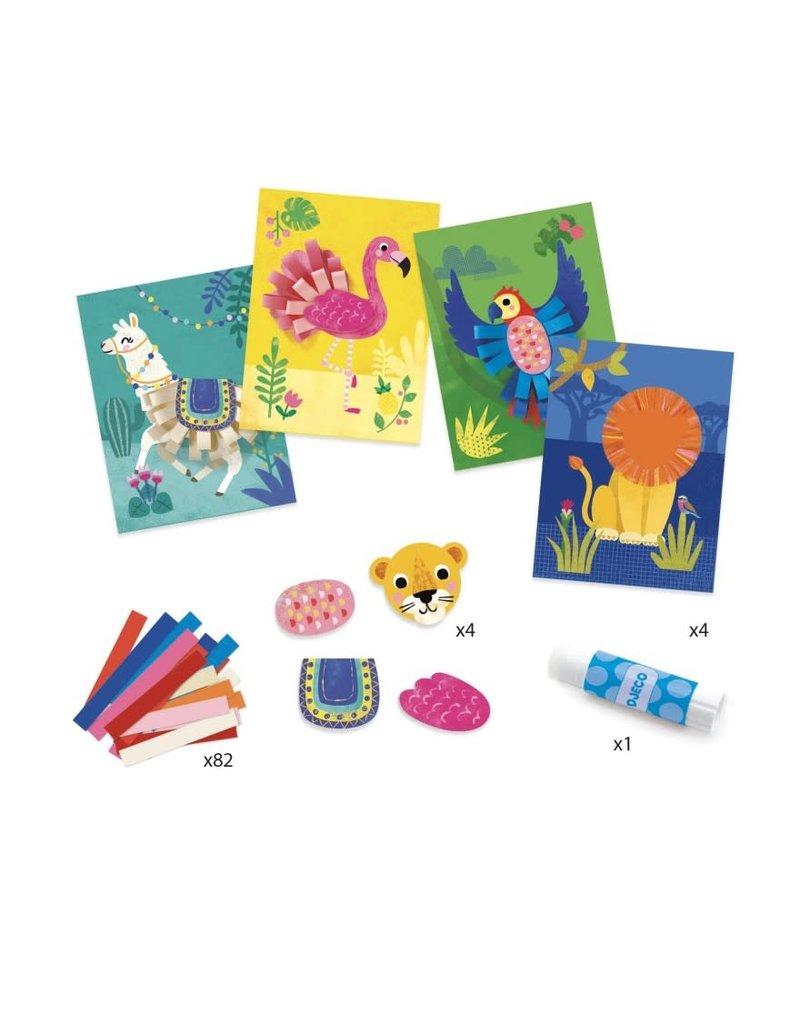 Djeco Djeco knutselpakket dierenkrullen dj09868