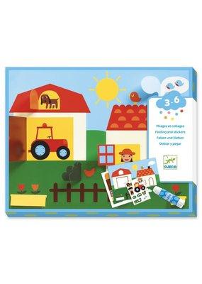 Djeco Djeco Knutselset met stickers