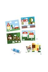 Djeco Djeco Knutselset met stickers dj09876