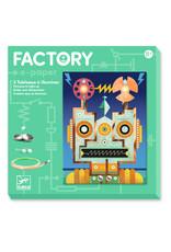 Djeco Djeco factory elektro kaarten robots dj09313