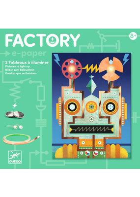 Djeco Djeco factory elektro kaarten robots