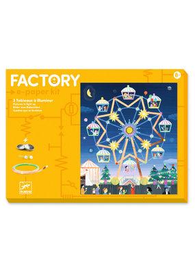 Djeco Djeco factory elektro kaarten kermis