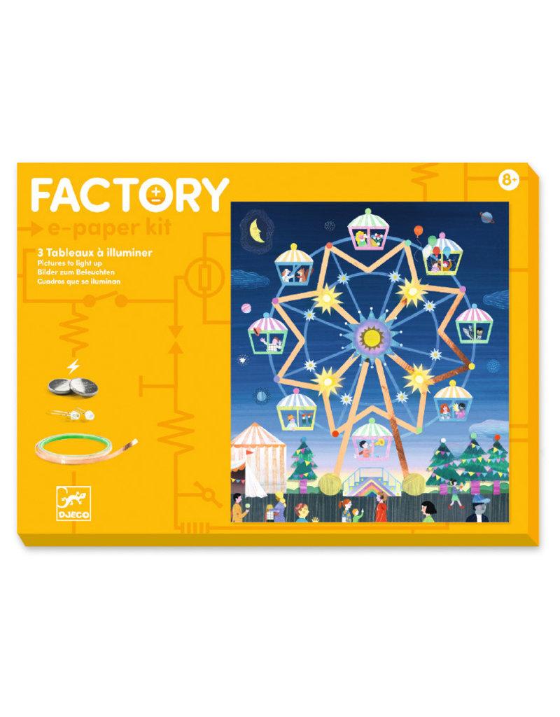 Djeco Djeco factory elektro kaarten kermis dj09311