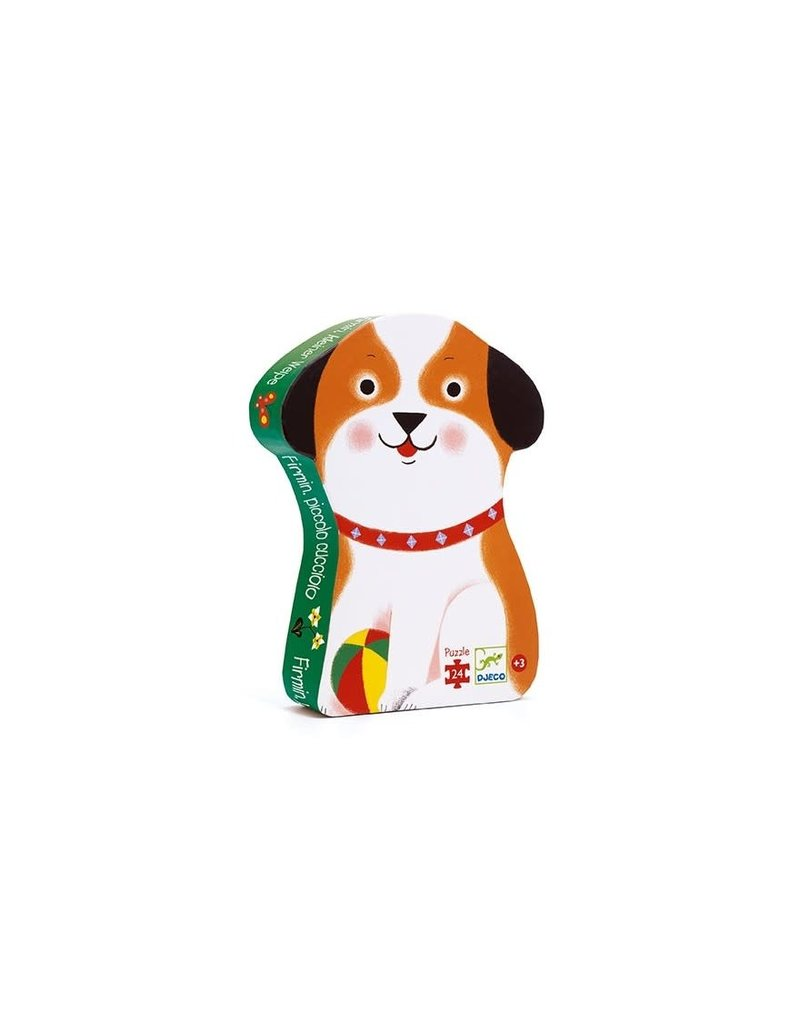 Djeco Djeco puzzel Little puppy 24pc dj07280