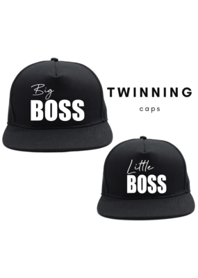 Kabana Kids Kabana Kids cap Big boss / Little boss