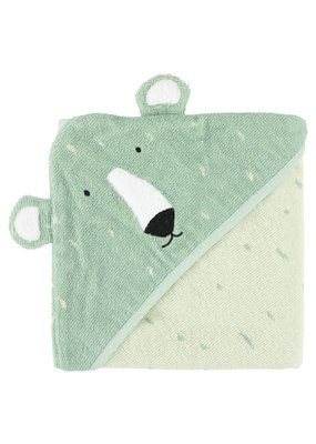 Trixie Trixie badcape 75x75 cm Mr. Polar bear