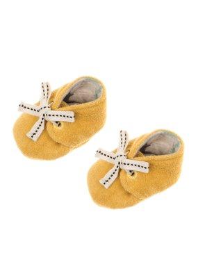 Feetje Feetje slofje geel Dino