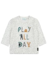 Feetje Feetje longsleeve play all day offwhite Cars