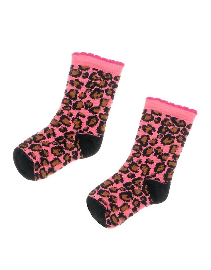 Feetje Feetje sokjes roze Animal Attitude
