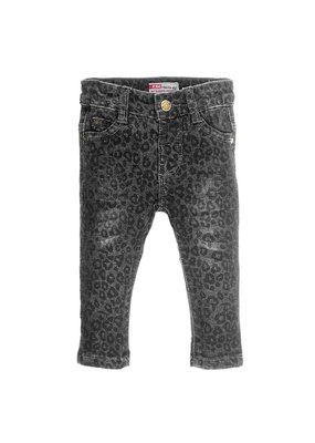 Feetje Feetje slim fit denim antraciet