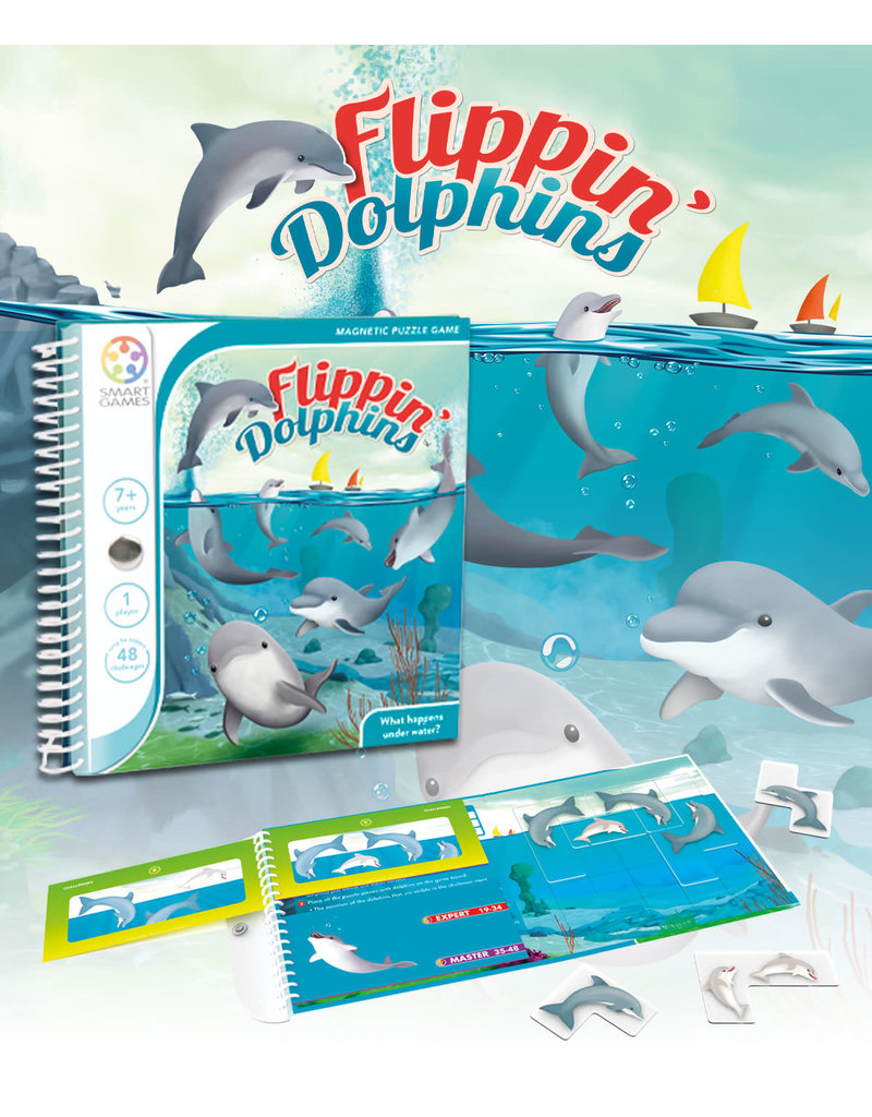 Smart games SmartGames Flippin' Dolphins Magnetic