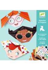 Djeco Djeco origami gezichten dj08757