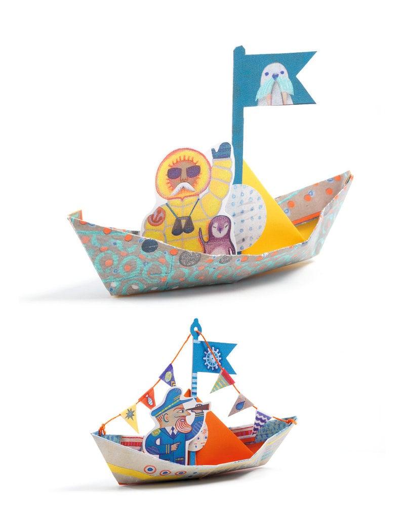 Djeco Djeco origami boten vouwen dj08779