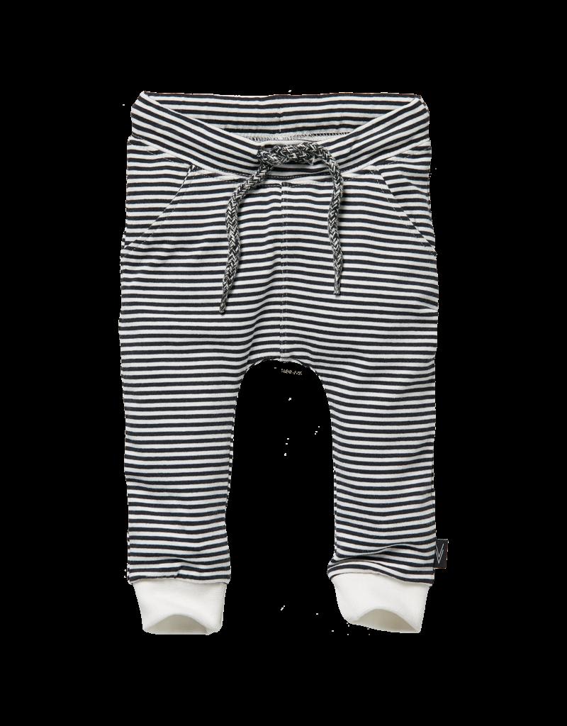 Levv Levv pants Zani off white stripe