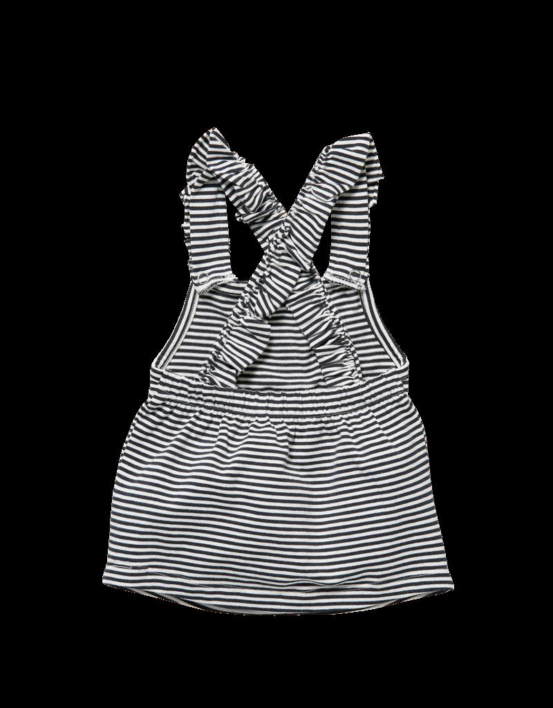 Levv Levv salopdress Zavira off white stripe