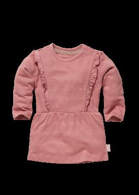 Levv Levv dress Zaar old pink stripe