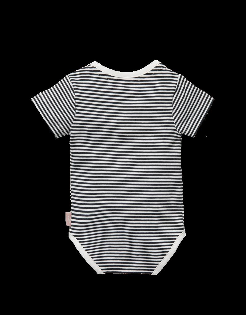 Levv Levv romper Zilver off white stripe