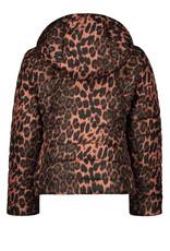 Like Flo Like Flo short hooded jacket animal