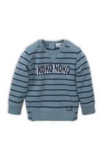 Koko Noko Koko Noko sweater teal green + navy