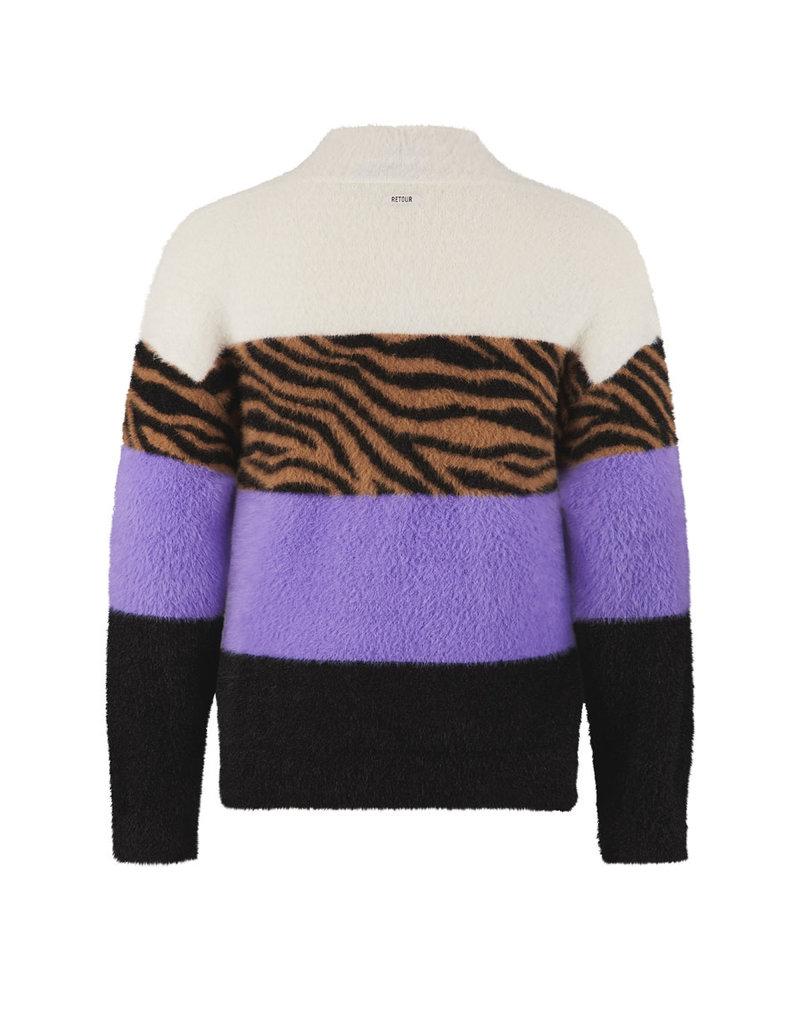 Retour Retour sweater Ulrike lavendel