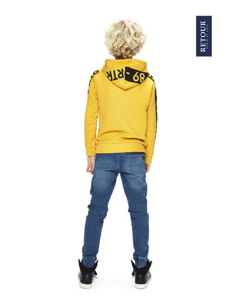 Retour Retour sweater Joey deep yellow