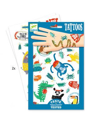 Djeco Djeco tattoos gekke dieren