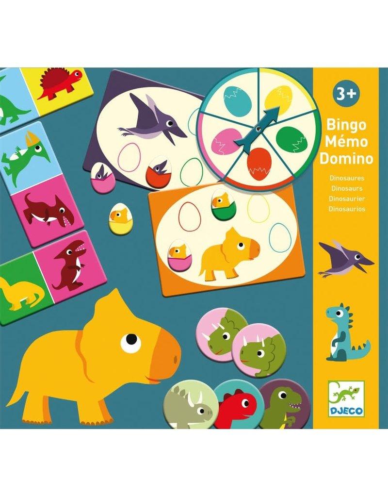 Djeco Djeco bingo memo domino Dino dj08132