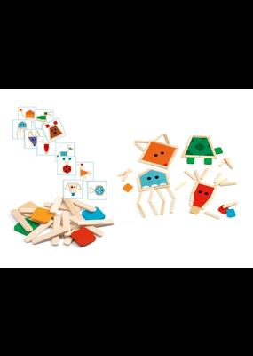 Djeco Djeco puzzelsticks dieren