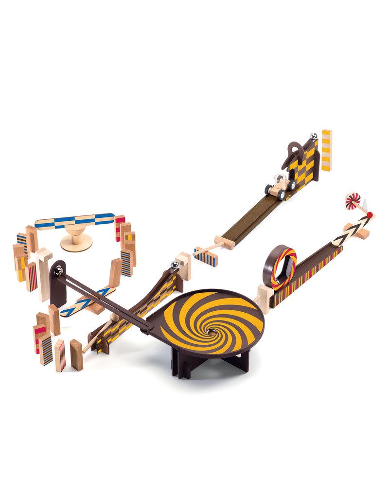 Djeco Djeco Zig & Go kettingreactiespel 45-delig dJ05643