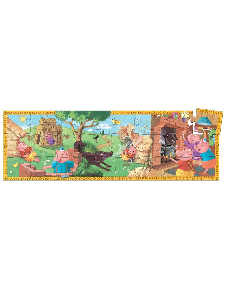Djeco Djeco puzzel 3 biggetjes dj07212 dj07212