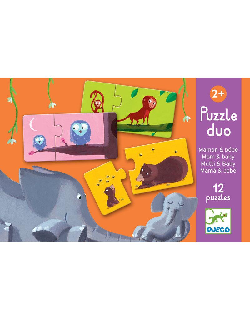Djeco Djeco duo puzzel mama en baby dj08157