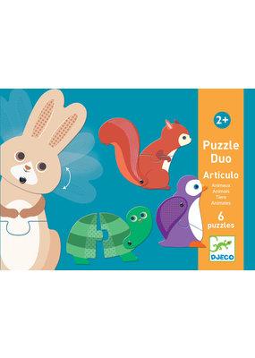 Djeco Djeco puzzel duo dieren