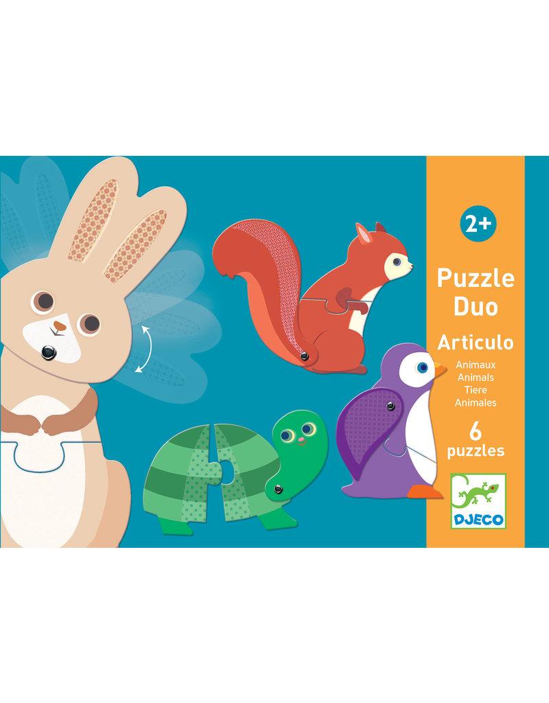 Djeco Djeco puzzel duo dieren dj08175