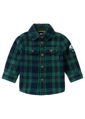 Noppies Noppies blouse Klipplaat check farm green