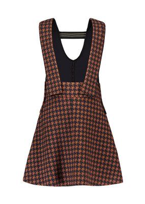 Like Flo Like Flo fancy neopreen strap jurk navy pdp