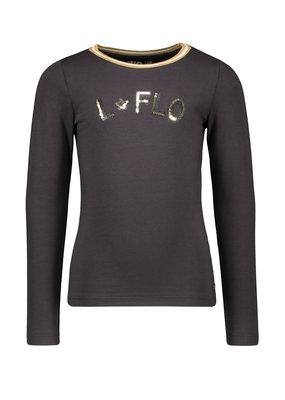 Like Flo Like Flo jersey longsleeve rib neck antra