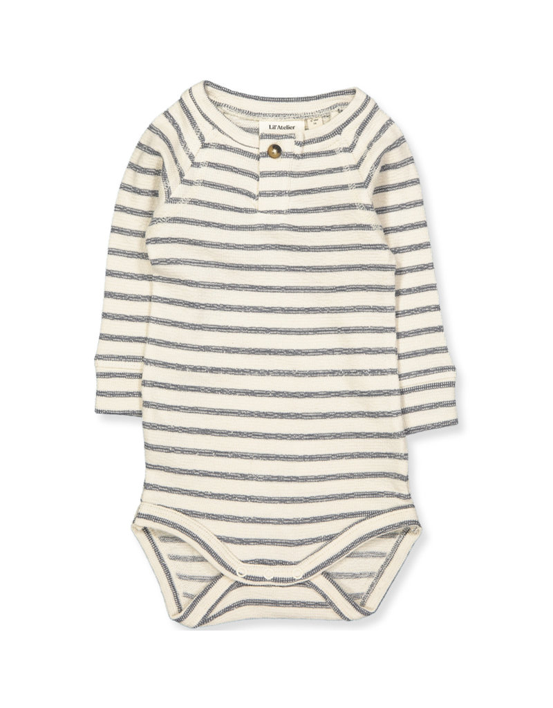 Lil' Atelier Lil' Atelier romper Nbmgalfred turtledove turbulence