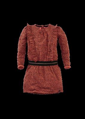 Z8 Z8 jurk Rosa burnt brick/aop