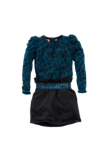 Z8 Z8 jurk Hanoeska bluebird/aop/beasty black